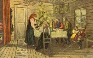 История Новогодних праздников. Часть V.