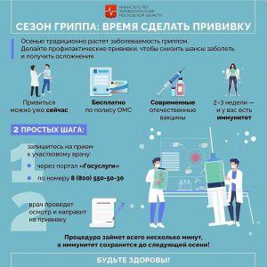 Прививочная кампания в Одинцовском округе
